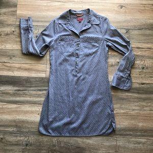 Merona Denim Shirt Dress (XSMALL)